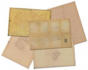 Fogli di mappa catastali